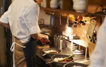 院直店の厨房の画像